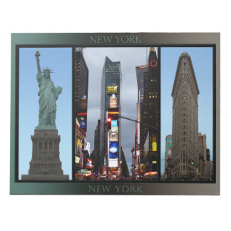 New York Souvenir Notepad NYC Landmark Gifts