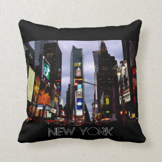 New York Souvenir NY Times Square Pillow