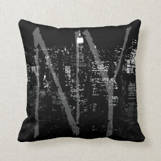 New York Souvenir Pillow NY Cityscape Pillow