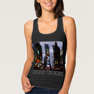 New York Souvenir Tank Top Lady's Times Square Top