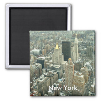 New York Square Magnet
