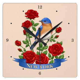 New York State Bird and Flower Clocks