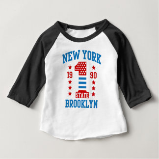 New york state Brooklyn Baby T-Shirt