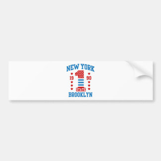 New york state Brooklyn Bumper Sticker