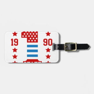 New york state Brooklyn Luggage Tag