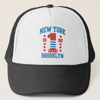 New york state Brooklyn Trucker Hat