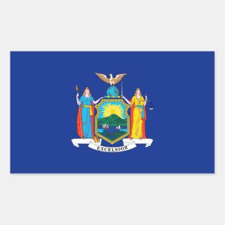 New York State Flag Design Sticker
