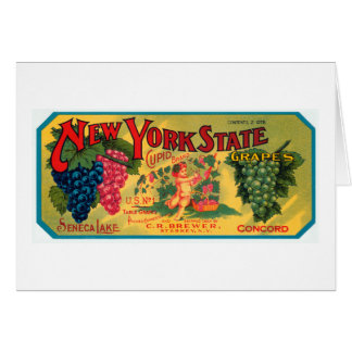 New York State Grapes Card