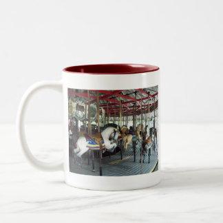 New york state merry go round mug