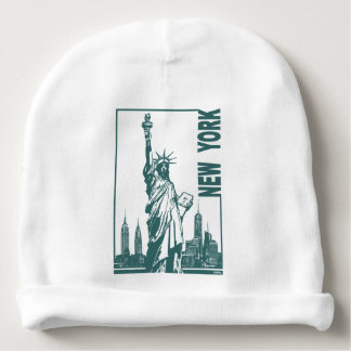 New York-Statue of Liberty Baby Beanie