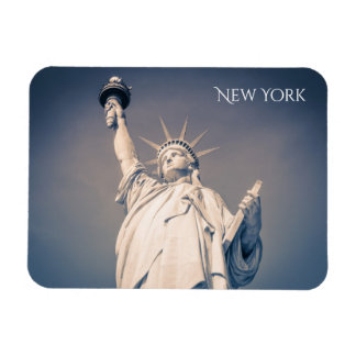New York Statue of Liberty Blue Magnet
