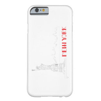 New-York, Statue-of-Liberty Cool Barely There iPhone 6 Case