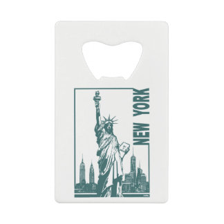 New York-Statue of Liberty Credit Card Bottle Opener