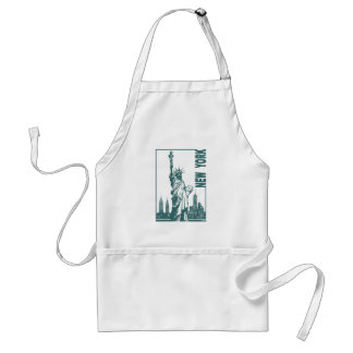 New York-Statue of Liberty Standard Apron