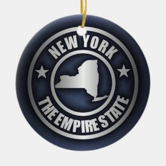 """New York Steel"" Decorative Ornaments (Blue)"