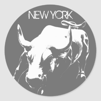 New York Stickers New York Bull Souvenir Stickers