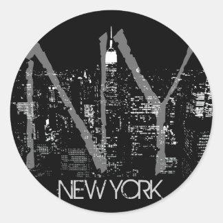 New York Stickers New York Skyline Souvenirs