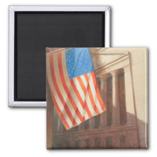 New York Stock Exchange 2010 Square Magnet