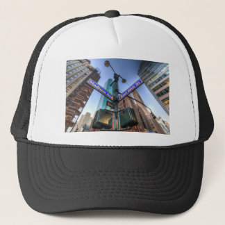 New York Street Sign Trucker Hat
