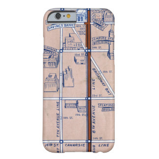 NEW YORK SUBWAY MAP, 1940 2 BARELY THERE iPhone 6 CASE