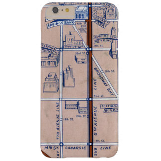 NEW YORK SUBWAY MAP, 1940 2 BARELY THERE iPhone 6 PLUS CASE