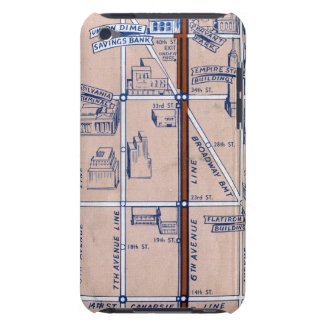 NEW YORK SUBWAY MAP, 1940 2 iPod TOUCH COVER