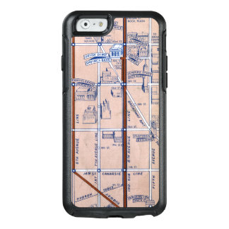 NEW YORK SUBWAY MAP, 1940 2 OtterBox iPhone 6/6S CASE