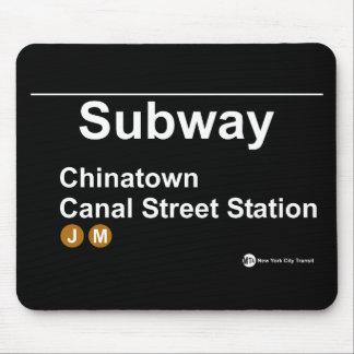 New York Subway Station Mouse Pad