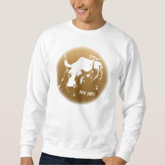New York Sweatshirt NYC Bull Souvenir Shirt