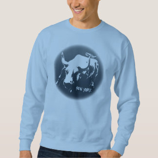 New York Sweatshirt NYC Bull Souvenir Shirt