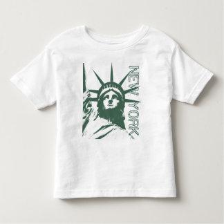 New York T-shirt Baby Statue of Liberty Baby Shirt