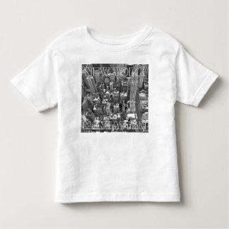 New York T-shirt Custom Baby NY Souvenir Shirt