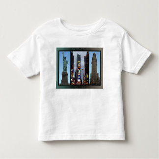 New York T-shirt Custom Baby NY Souvenir Shirt