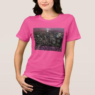 New York T-shirt Women's Custom Plus Size NY Shirt