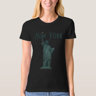 New York T-Shirt Women's Statue of Liberty Organic