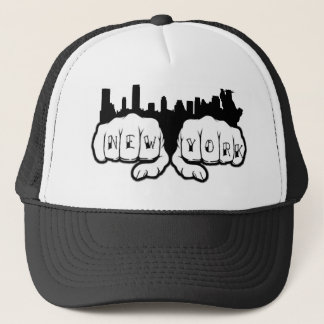 New York Tattoo Trucker Hat