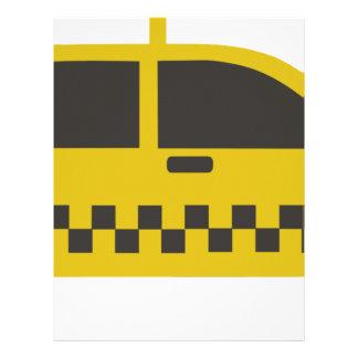 New York Taxi Cab Letterhead