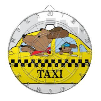 New York Taxi Dog Dartboard