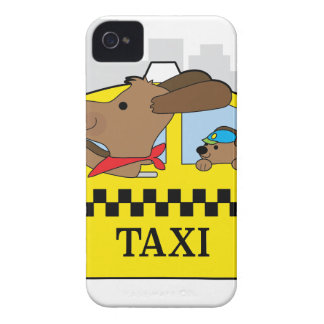New York Taxi Dog iPhone 4 Case-Mate Case