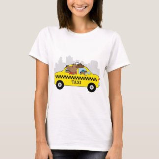 New York Taxi Dog T-Shirt