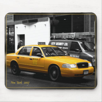 New York-Taxi Mouse Pad