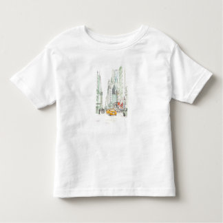 New York taxi Toddler T-shirt