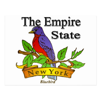New York The Empire State Bird Postcard
