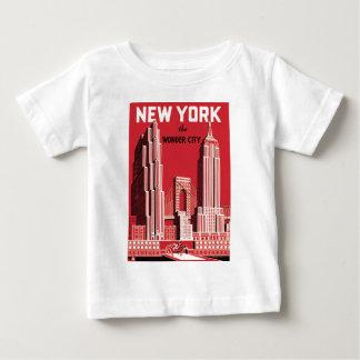 New York The to wonder City Baby T-Shirt