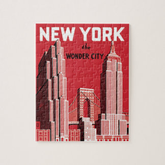 New York The to wonder City Puzzle