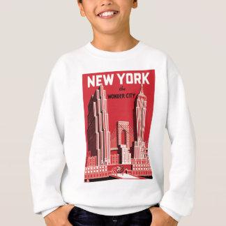 New York The to wonder City Sweatshirt