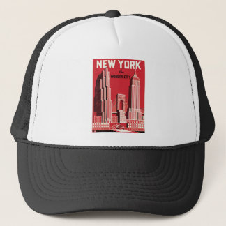 New York The to wonder City Trucker Hat