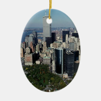 New York The Twin Towers NYC keepsake ornament