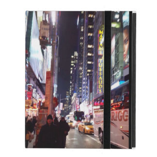 New York Time Square Manhatten iPad Folio Case