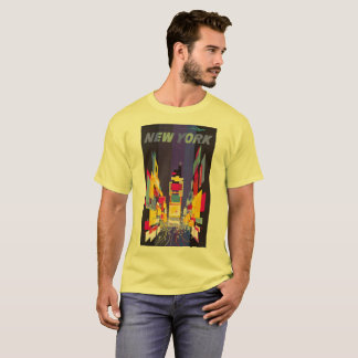 New York Times Square by night abstract T-Shirt
